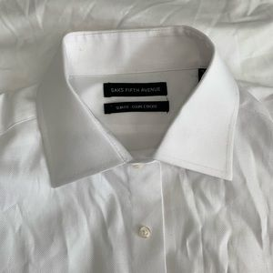 New Sakes Fifth Ave Slim Fit French Cuff Button Do
